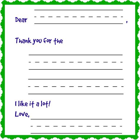 Thank You Note Template Blank Writing Charming Thank You Notes Free Printable Pragmaticmom