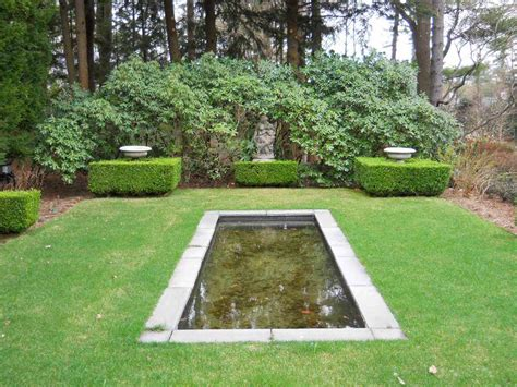 Simple Garden Pond Ideas Classic Garden Design And Style With Plans Homescorner