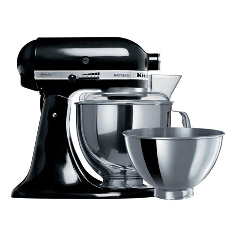 home kitchen aid kitchenaid 5ksm160psaob artisan mixers onyx black home clearance