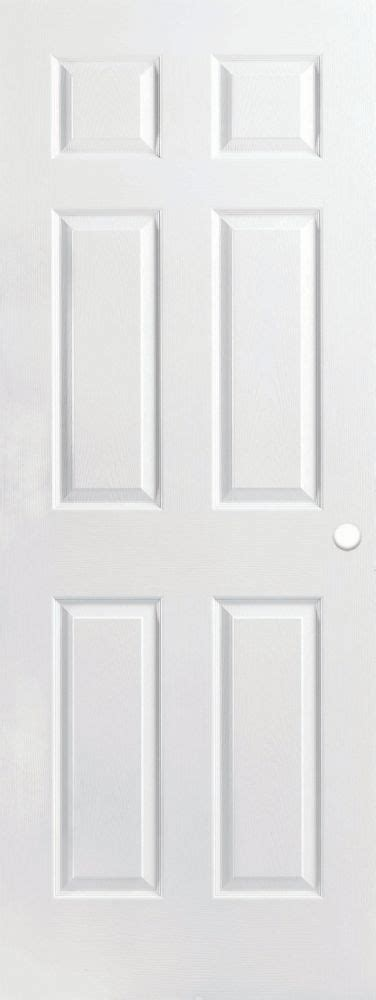 Masonite 30 Inch X 80 Inch Primed Textured 6 Panel 30 Inch Interior Door