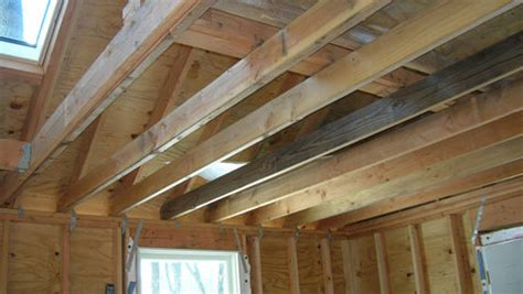 Doors Without End Alternatives how to reinforce 2x6 ceiling joists to handle heavy loads
