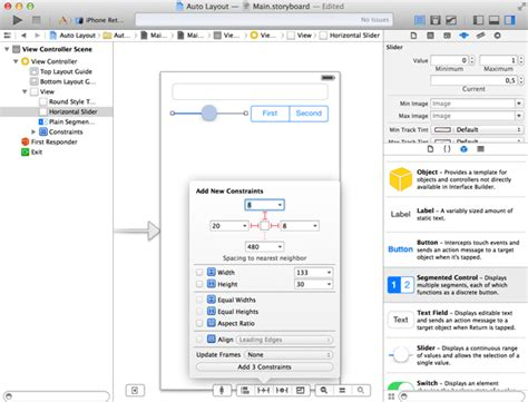xcode text field layout getting started with auto layout in xcode 5