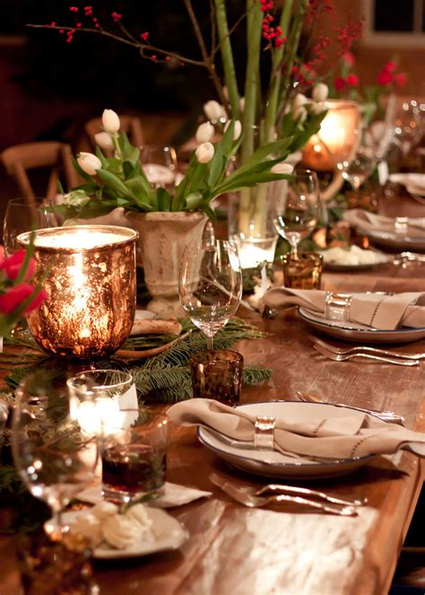 best place to get christmas table get the look a woodland inspired table 2014 lonny