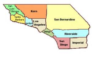southern california counties map quotes