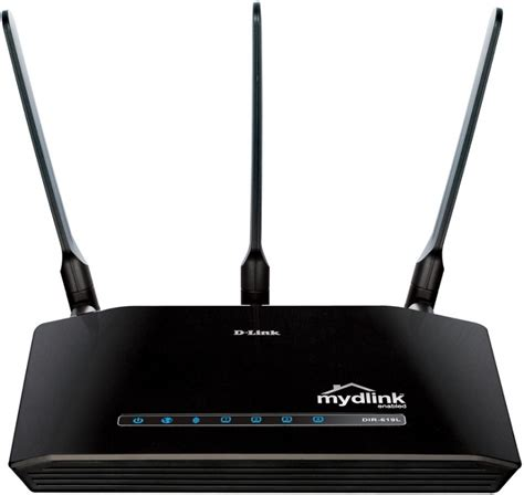 Router Wireless Reapeater N300 Dlink Dir 619l 4 Lan 3 Antena d link dir 619l wireless n300 cloud price in computer shop egprices