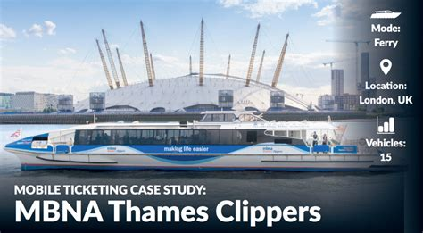 thames clipper return ticket mobile ticketing case studies