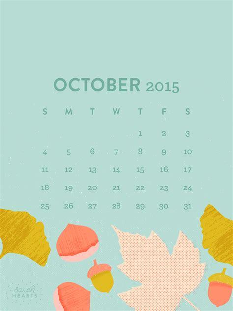 october  calendar wallpaper sarah hearts