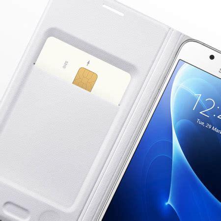 Samsung Flip Wallet Galaxy J5 2016 Original official samsung galaxy j5 2016 flip wallet cover white