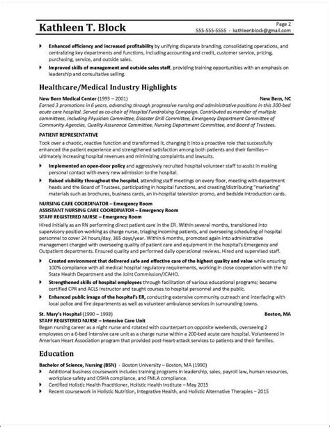 resume curriculum vitae example examples of resumes