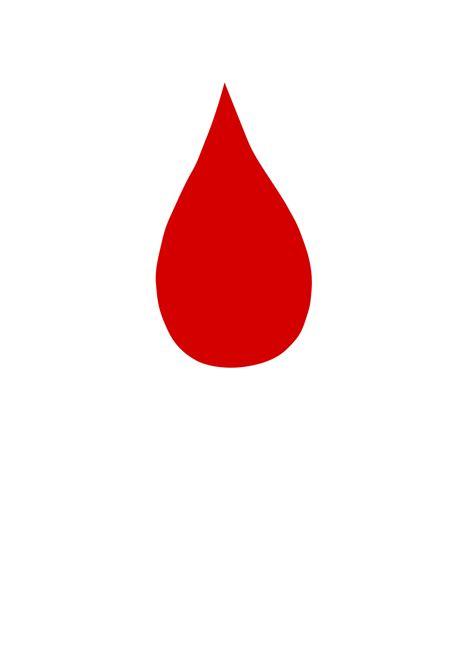 Blood Drop Clipart