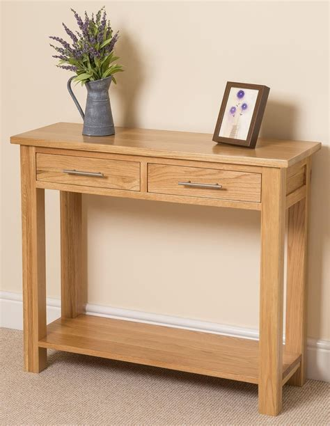 oak console oak console table modern console table appealing oak