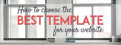 How To Pick The Perfect Template For Your Website Jimdo Blog Jimdo How To Choose Website Template
