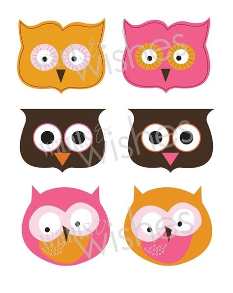 printable owl treat bag topper printable owl favor treat bag toppers great ideas