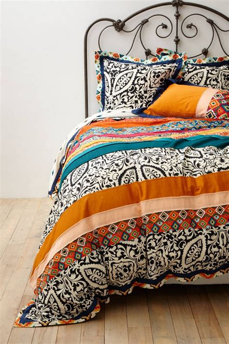 nip anthropologie florence king duvet cover 2 standard