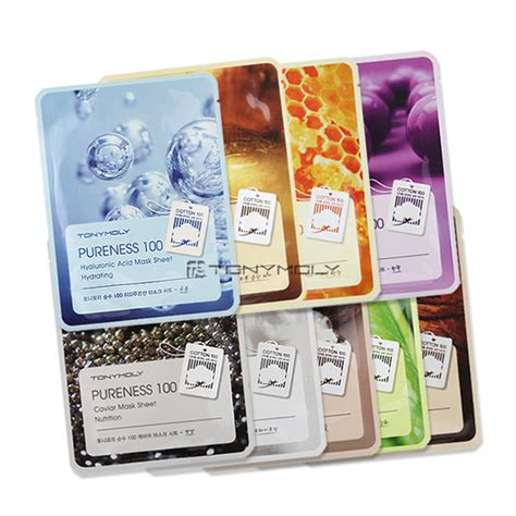 Tony Moly Pureness Pearl Brightening Mask tonymoly pureness 100 mask sheet 9 types one ebay