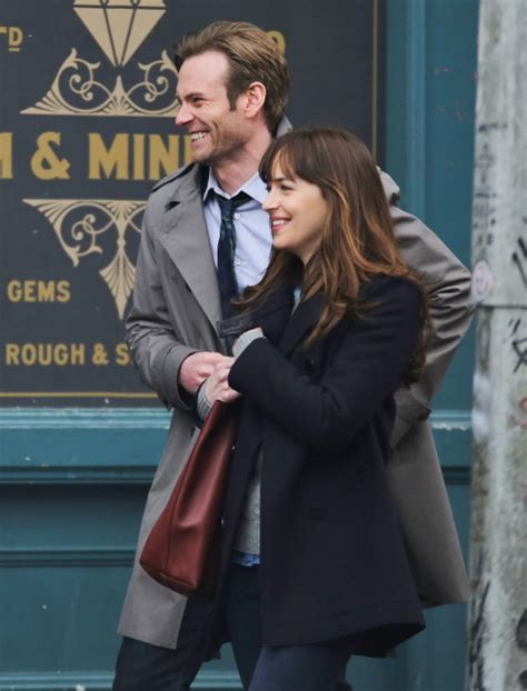 fifty shades darker filming now dakota johnson continues filming fifty shades darker