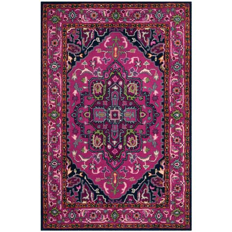 bellagio rugs safavieh bellagio pink navy 4 ft x 6 ft area rug blg541c 4 the home depot