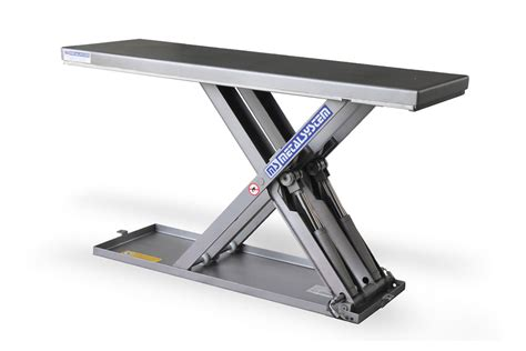 low profile lift table ms metalsystem sl low profile lift tables