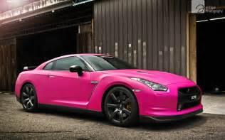 Pink Nissan 370z Nissan Gtr In Matte Pink Wallpapers Hd Wallpapers