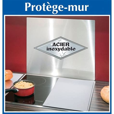 protection mur cuisine plaque protection murale inox wenko protection plaques