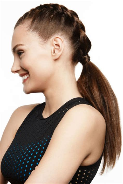 Workout Hairstyles by How Do You Style Your Hair For Exercise Workout Hairstyle