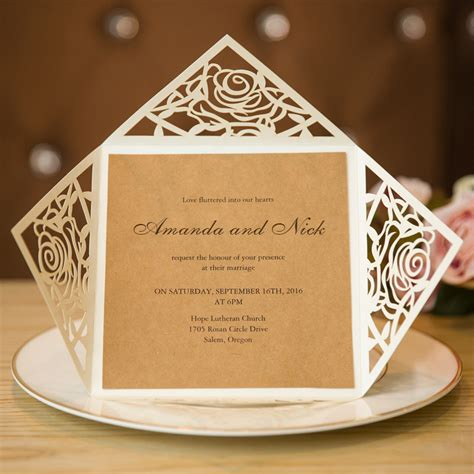 Wedding Invitations For Cheap by Wedding Invitation Cards Rustic Wedding Invitations Cheap