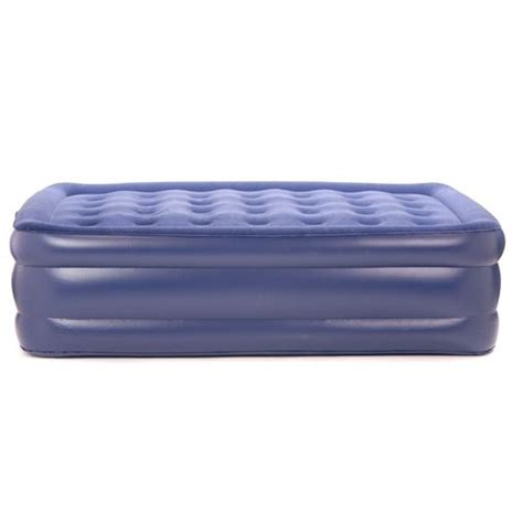 smart air beds best buy smart air beds queen raised deluxe flock top air