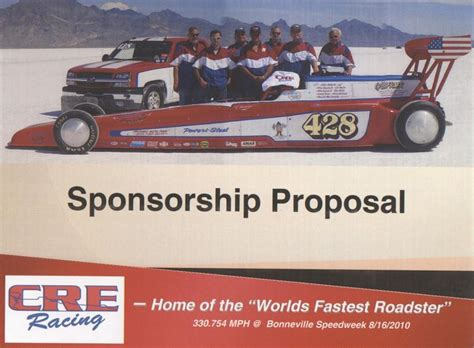 drag racing sponsorship template template 187 drag racing sponsorship