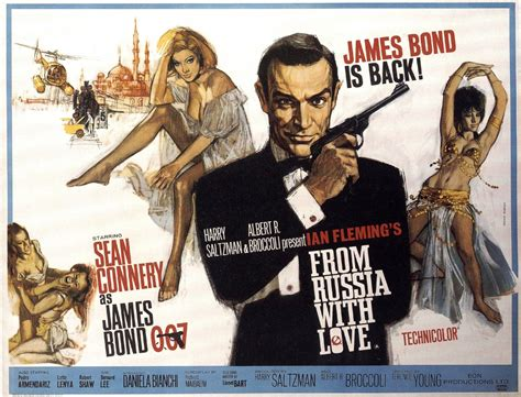 james bond from russia with love from russia with love poster 3
