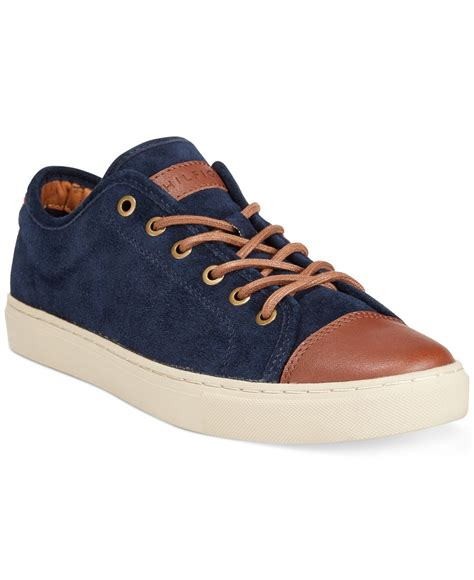 hilfiger sneakers mens lyst hilfiger sneakers in blue for