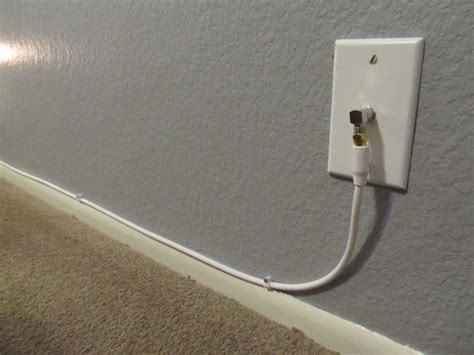 easy way to run cable in wall 1000 ideas about hide cable cords on hide