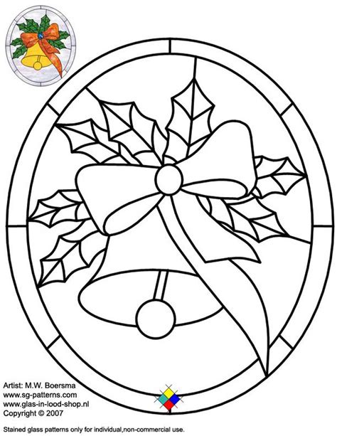 free stained glass christmas patterns pattern collections