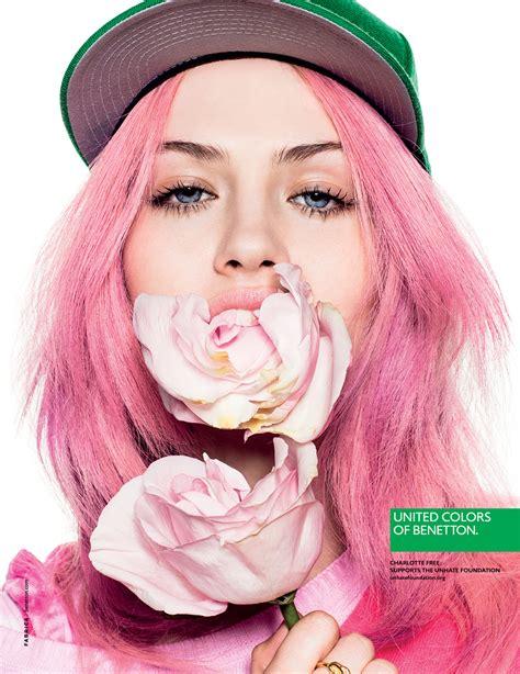 pink photos hair 2013 pub benetton 2013 couleurs avec alek wek lea t