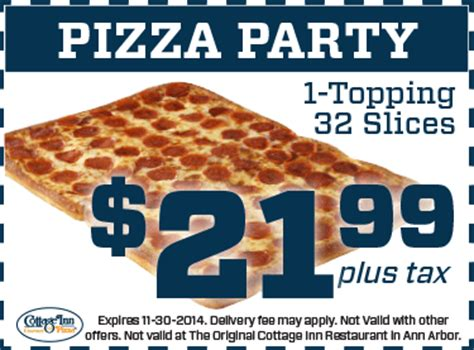 cottage inn pizza toledo pizza coupons deals cottage inn pizza