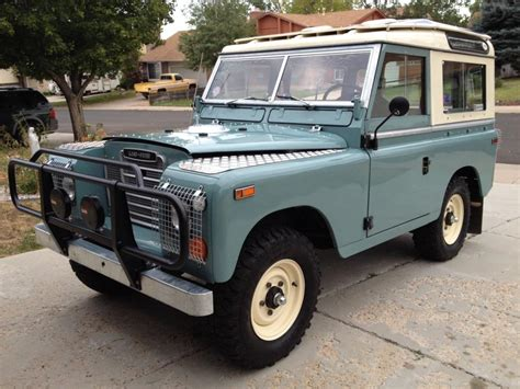 land rover for sale 1972 land rover series 3 88 swb for sale land rover