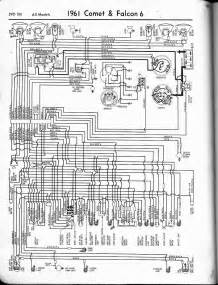 free auto wiring diagram 1961 ford falcon comet wiring diagram