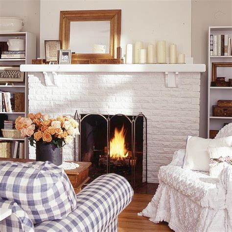 white fireplace brick white brick fireplace makeover kvriver