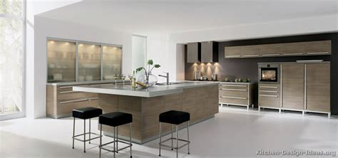 White Kitchen Island With Seating by Pictures Of Kitchens Modern Light Wood Kitchen