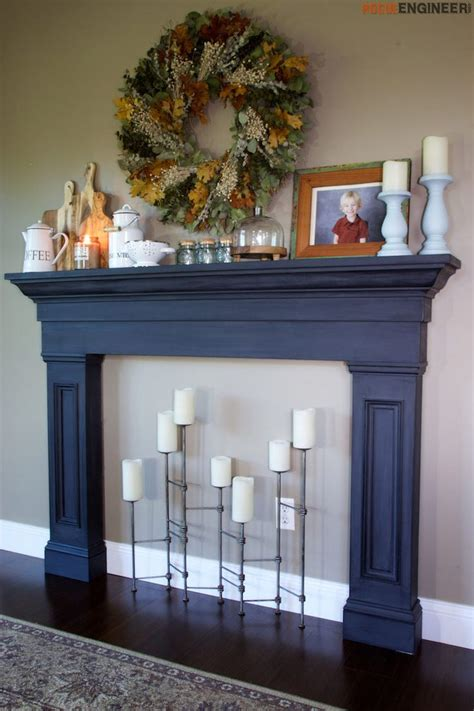 faux wood fireplace mantel best 25 decorative fireplace ideas on bedroom decor candle fireplace and