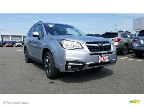 subaru forester 2017 silver 2017 ice silver metallic subaru forester 2 5i limited