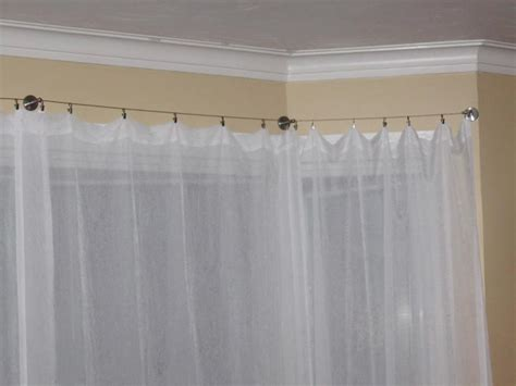 curtains for a bow window bow window curtain rods hey hey do you a bay inspiring views bow window 8 curtain rod kit