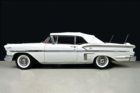 58 impala convertible 1958 chevrolet impala convertible 198797