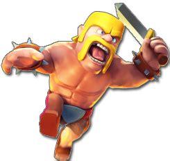 clash of clans barbarian level 7 clan quot los del fuego quot