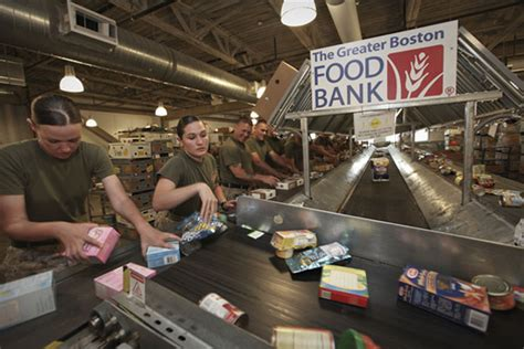 Boston Food Pantries by Study Finds 25 Of Troops Use Food Banks