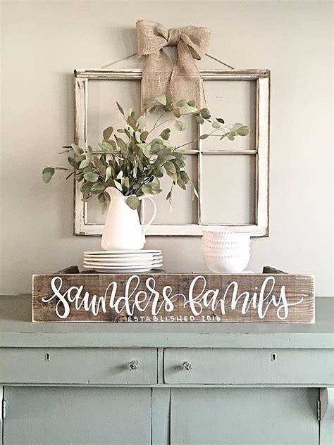 sign rustic home decor wedding established