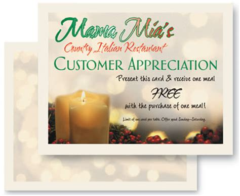 customer appreciation cards template it s on us 15 customer appreciation event ideas for vips