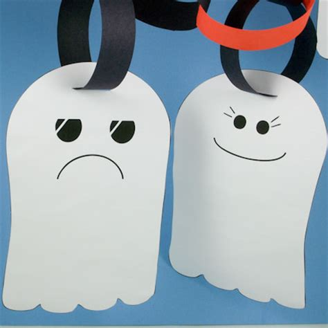 How To Make Paper Ghost For - make a ghost garland crafts s crafts