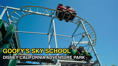4k goofy s sky school crash course disney california adventure park anaheim ca
