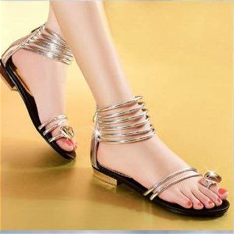 Sandal Cewek Teplek Pita Bunga Sendal Wanita Flat Slop Kokop sandal teplek flat wanita cantik model terbaru murah