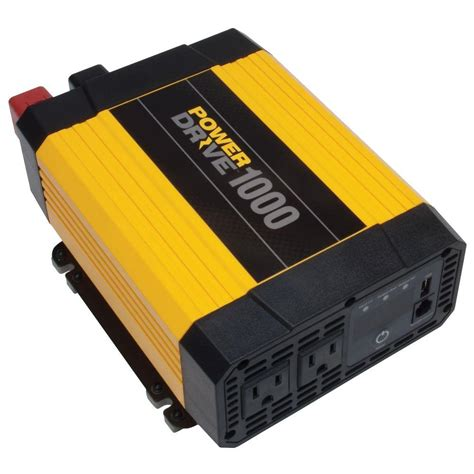 Power 1000 Watt powerdrive 1 000 watt power inverter yellow black